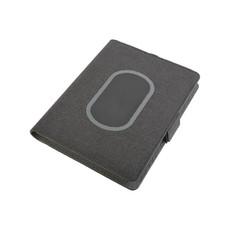 Organizer con wireless e quaderno A5 colore nero