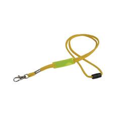 Porta badge con placchetta colore giallo