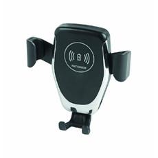 Porta cellulare per auto con caricatore wireless colore nero