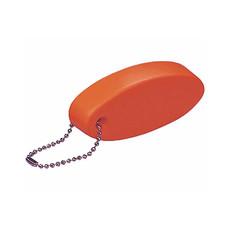 Portachiavi galleggiante ovale colore rosso