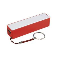 Power bank  con tripla protezione da corto circuito colore rosso
