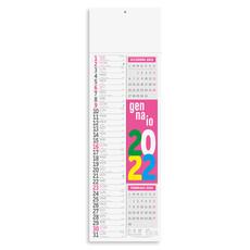 Calendario olandese slim multifluo 2022
