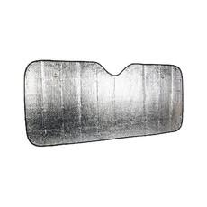 Parasole con ventose ripiegabile colore argento