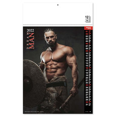 Calendario nudo uomo Dream Man 2022