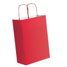 Shopper in carta colorata con logo
