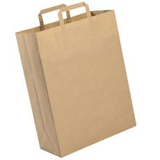 Shopper in carta riciclata con logo