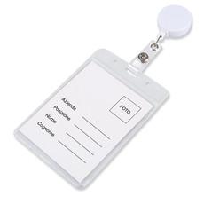 porta badge, porta badge estensibile