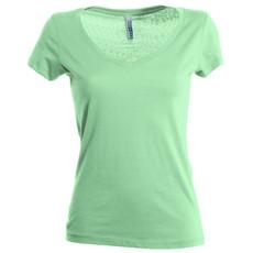T-shirt donna manica corta alta qualità collo a V Fencer Payper