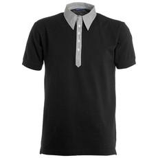 Polo piquet a manica corta con inserti a camicia Travel Payper