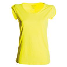 t-shirt donna manica corta slubby jersey fluo Discovery Lady Payper