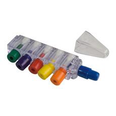 Set di pastelli a cera colorati