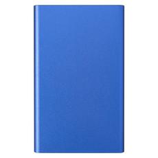 Powerbank in alluminio 4.000mAh - colore Blu Royal