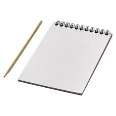 Blocco appunti con fogli colorati - colore Bianco