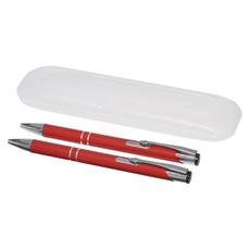 Set penna e portamina con custodia - colore Rosso