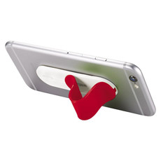 Supporto portacellulare personalizzato - colore Rosso
