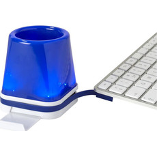 Hub da scrivania con portapenne - colore Blu Royal