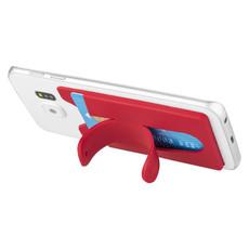 Supporto per smartphone porta carte di credito - colore Rosso