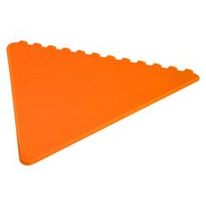 Raschiaghiaccio triangolare - colore Arancio