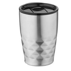 Bicchiere termico a doppia parete - colore Argento