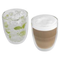 Set 2 bicchieri 300ml personalizzabili - colore Trasparente