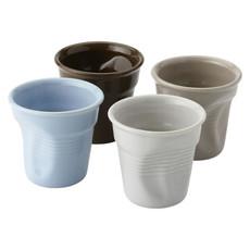 Set espresso 4 tazze - colore Multi-colore