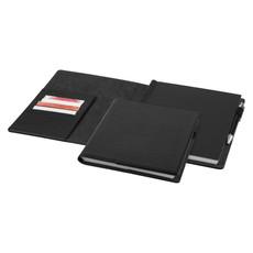 Portfolio essenziale con blocco - colore Nero