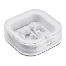 Auricolari in silicone con 2 ricambi colore bianco MO7267-06