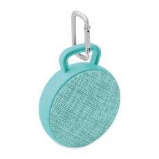 Speaker tondo in tessuto colore turchese MO9261-12