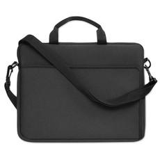 Porta laptop con manico e tracolla regolabili colore nero MO8331-03