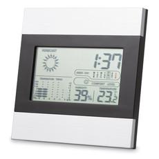 Stazione meteo e orologio e calendario colore argento opaco IT3575-16