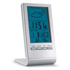 Stazione meteorologica con display LCD colore argento KC6460-14