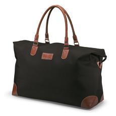 Ampia borsa da viaggio con doppia zip colore nero KC6351-03