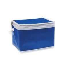 Borsa frigo 6 lattine con interno in alluminio colore blu MO7883-04