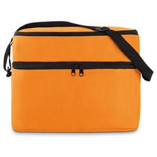 Borsa frigo con 2 comparti colore arancio MO8949-10