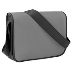 Borsa porta documenti bicolore in TNT colore grigio MO9295-07