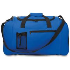 Borsa sportiva con zip colore blu royal MO9013-37