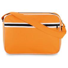 Porta documenti con tracolla regolabile colore arancio MO8970-10