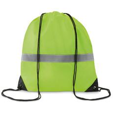Sacca con striscia riflettente colore giallo neon MO8868-70