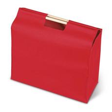 Shopper con manici in legno colore rosso KC1502-05