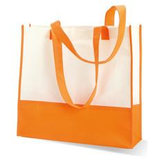 Shopper o borsa mare in TNT colore arancio KC6540-10