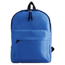 Zaino con tasca esterna con zip colore blu royal KC2364-37