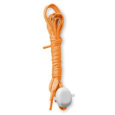 Lacci in nylon con luci e batterie incluse colore arancio MO9097-10