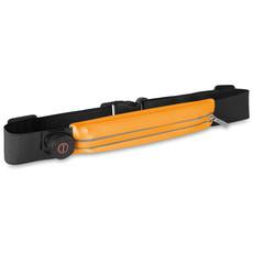 Marsupio waterproof da corsa con luce colore arancio MO9114-10