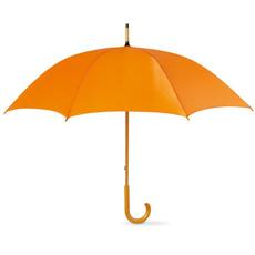 Ombrello da 23 pollici con manico in legno colore arancio KC5132-10