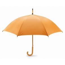 Ombrello in poliestere con apertura automatica colore arancio KC5131-10