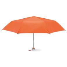 Ombrello pieghevole con cuciture interne colore arancio MO7210-10