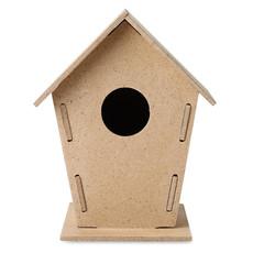 Casetta per uccelli da giardino colore legno MO8532-40