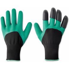 Coppia guanti giardinaggio con rinforzi per scavare colore verde MO9185-09