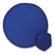 Frisbee pieghevole in poliestere colore blu IT3087-04