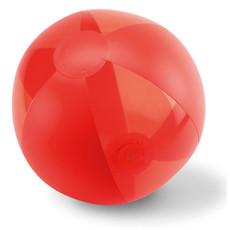 Pallone da spiaggia gonfiabile colore rosso MO8701-05